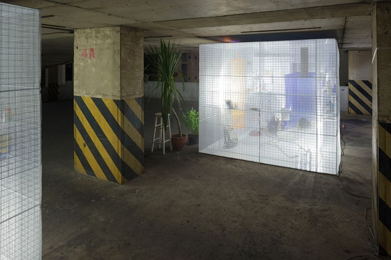 Light House popup apartment can be setup in abandoned buildings or parking garages -5