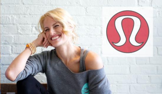 Nicole Katz from Yoga 216 is one of the many brand ambassadors of Lululemon