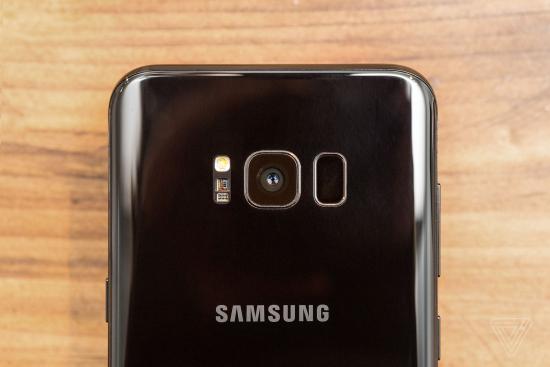 Samsung Galaxy S8 and SP Plus rear facing camera