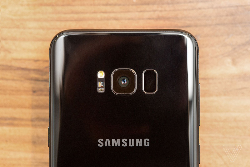 Samsung Galaxy S8 and SP Plus rear facing camera