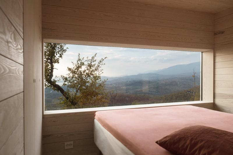 Cabin Ustaoset's bedrooms (Credit Knut Bry)