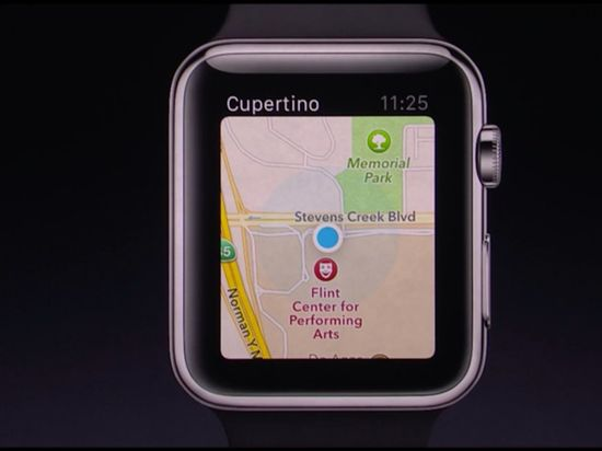 Apple-watch-map