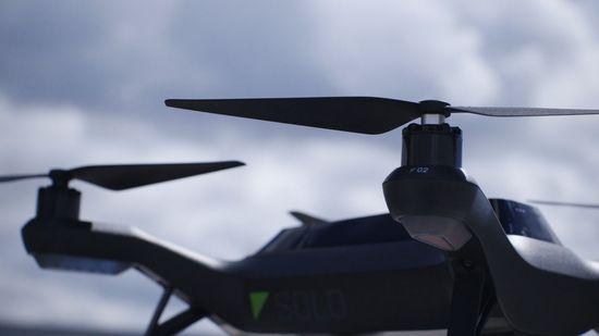 3D Robotics Solo Drone up close