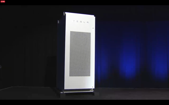 Tesla PowerPack can house up to nine individual Powerwall units