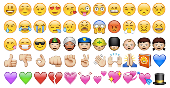 Instagram hashtag emojis
