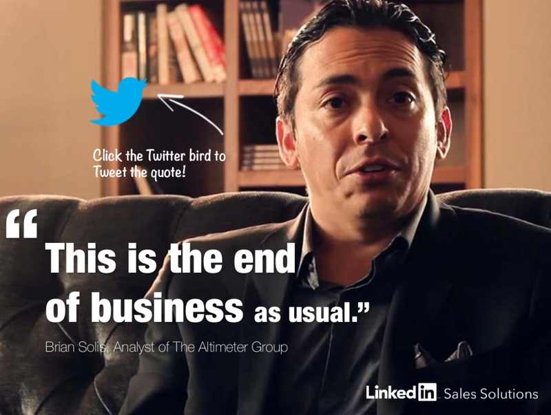 Brian Solis, author of The End of Business As Usual