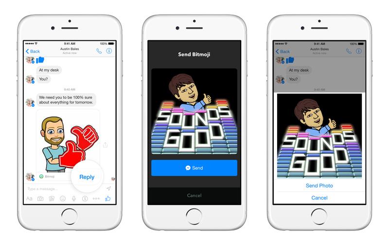 Messenger Platform sample apps 3