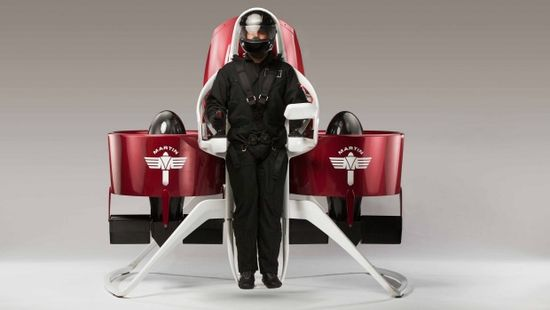 Martin Aircraft is getting closer to becoming the world's first to offer a commercial jetpack. Supplied