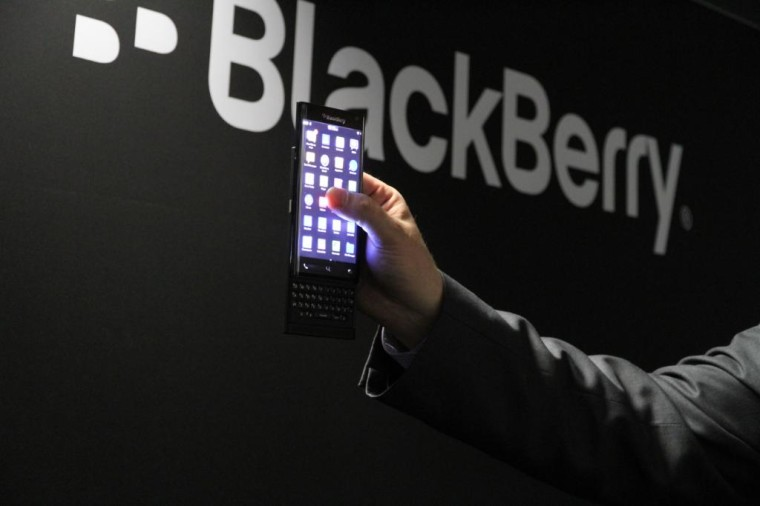 Blackberry Android with slider keyboard