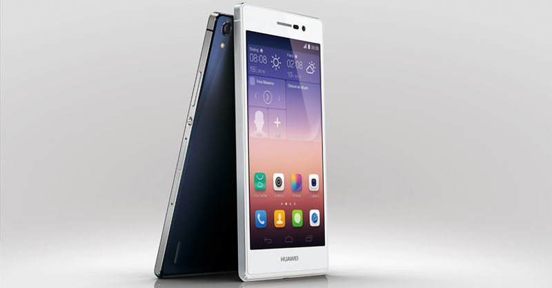 Huawei Ascend P7 is the top of the line smartphone for chinese set maker Huawei