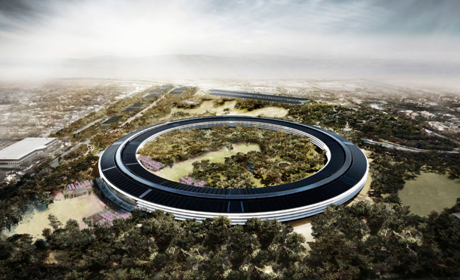 Apple's Spaceship Headquarters 1