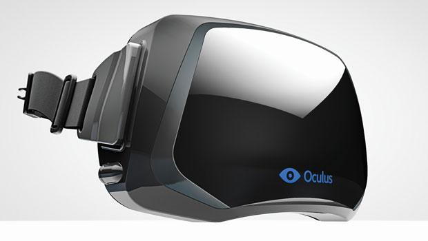 Oculus-Rift headset