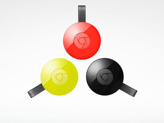 The new Google Chromecast -- One for your TV and One for your music