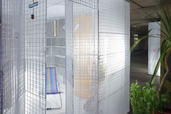 Light House popup apartment can be setup in abandoned buildings or parking garages -7