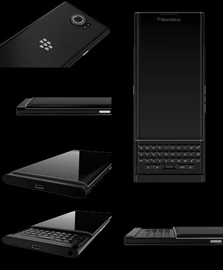 BLACKBERRY'S NEW PRIV ANDROID PHONE, REAL KEYBOARD, SECURITY