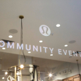 The Community Center located inside Lululemon's flagship store located in the Flatiron district of NYC
