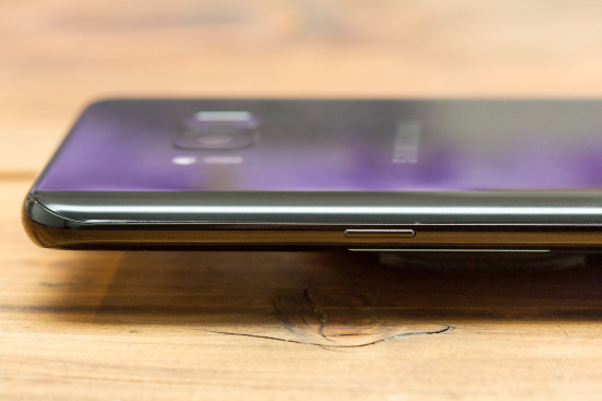 Samsung Galaxy S8 and S8 Plus has the power on-off button located on the left side of the phone
