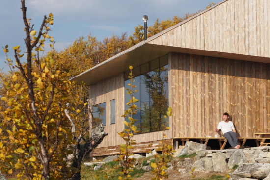 Cabin Ustaoset is located in Norway's Hol municipality (Credit Knut Bry)