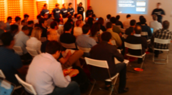 Y Combinator Demo Day meeting