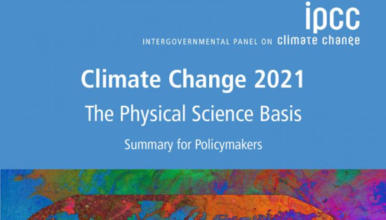 United Nations Intergovernmental Panel on Climate Change - Climate Change 2021